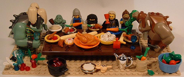 Thanksgiving with the Family! Image via Flickr user martha_chapa95.