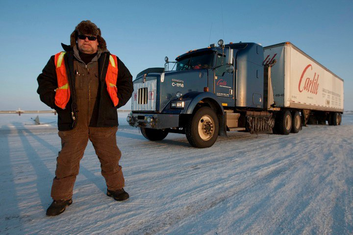 Hugh Rowland, Ice Road Trucker.