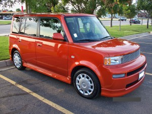 Scion xB, voted worst small car fuel economy from ConsumerReports.org.