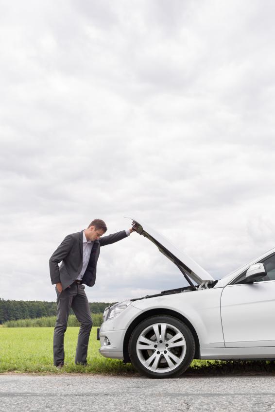Emergency kit for broken-down car