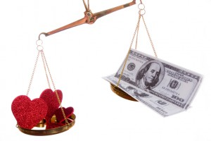 Does love win or does money?