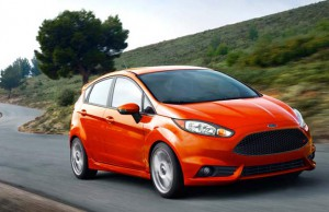 2014 Ford Fiesta Orange