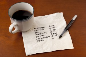 When it comes to budgeting, you just have to do it.